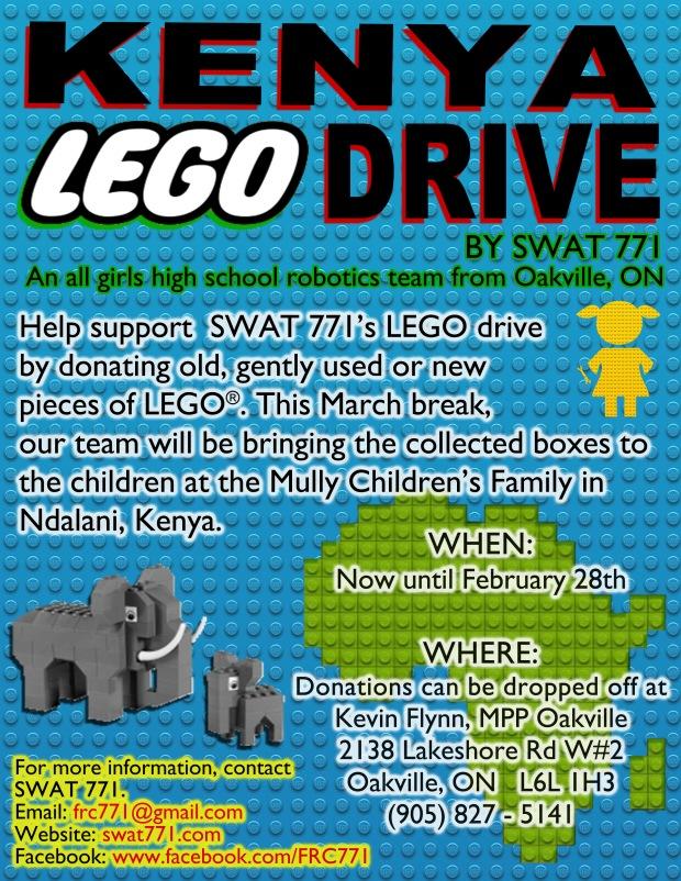 Kenya Lego Drive (Oakville)