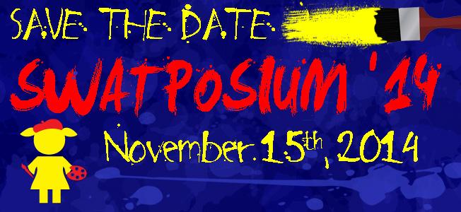 Swatposium 14 Save the Date